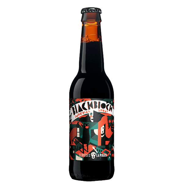 Black Block Imperial Stout La Pirata