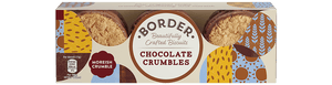 Border Chocolate Crumbles Biscuits