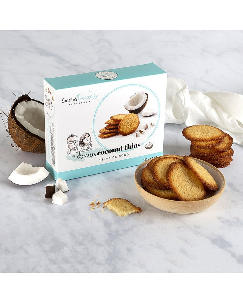 Dream Coconut Thins Escriba