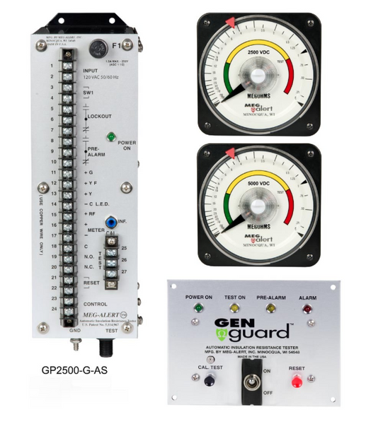 GP2500-G-AS - MegAlert Gen Guard - Motor & Generator Protection