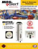 GP5000-MU-AS MegAlert Motor Guard - Motor & Generator Protection