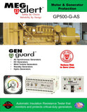GP500-G-AS 2% - MegAlert Gen Guard - Motor & Generator Protection