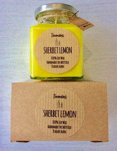 Sherbet Lemon - Candle