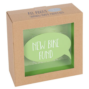 New Bike Fund- Money Box