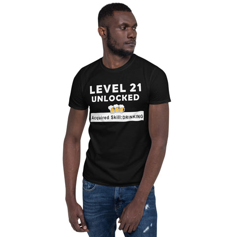Level 21 - Short-Sleeve Unisex T-Shirt