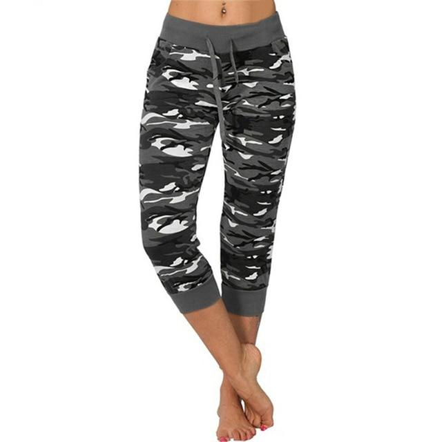 Camo Push Up Sports Pants workoutleggings Grey 5XLarge CHINA