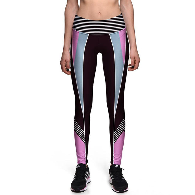 Compressed Fitness and workout Leggings workoutleggings Large