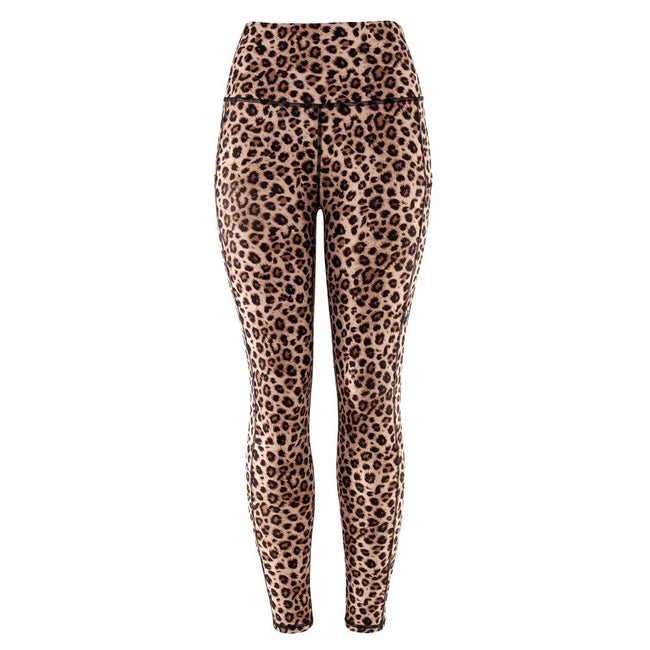 Women Chic Leopard Print Sports Leggings workoutleggings