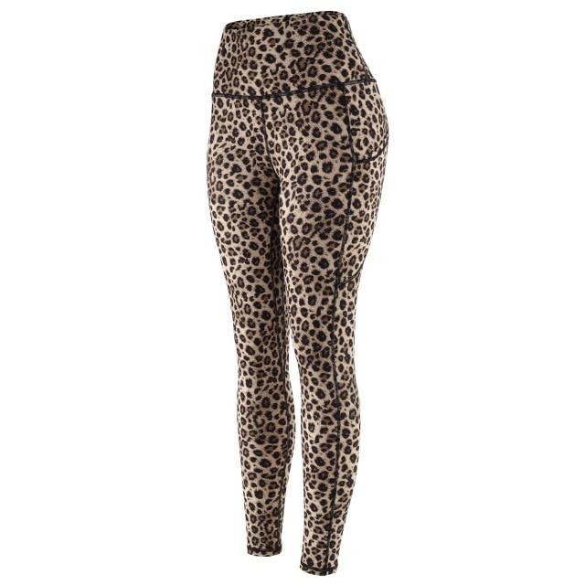 Women Chic Leopard Print Sports Leggings workoutleggings SL586LE Xtra Large China