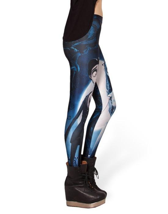 Women Corpse Digital Printed Leggings workoutleggings