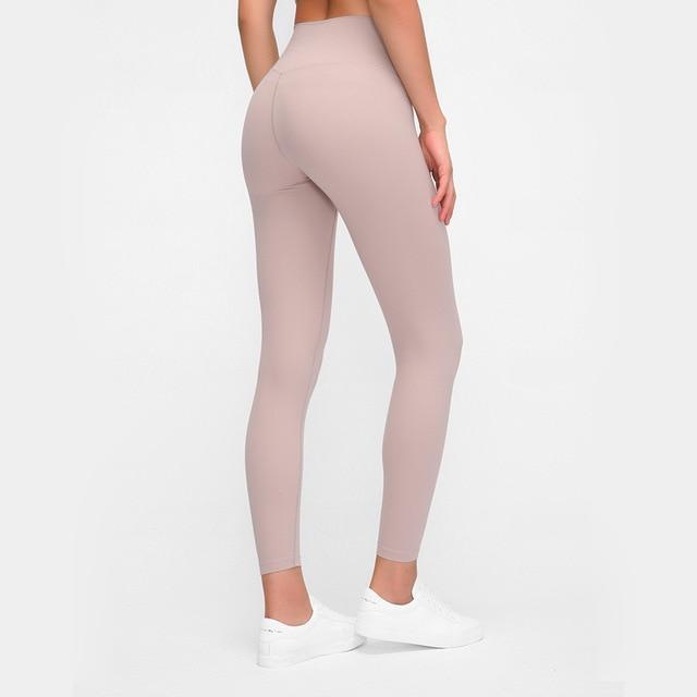 Women Fitness Sport Leggings workoutleggings Stone Pink Xtra Small CHINA