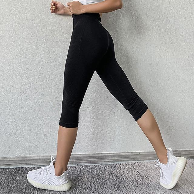 Women Fitness Workout Sport Leggings workoutleggings Black Large/Xtra Large