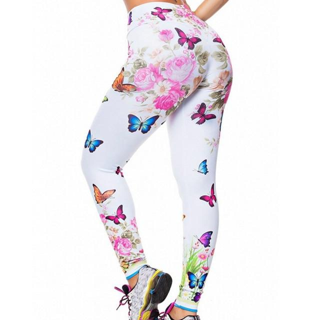 Women Floral Push Up Sports Leggings workoutleggings 11 Xtra Xtra Large