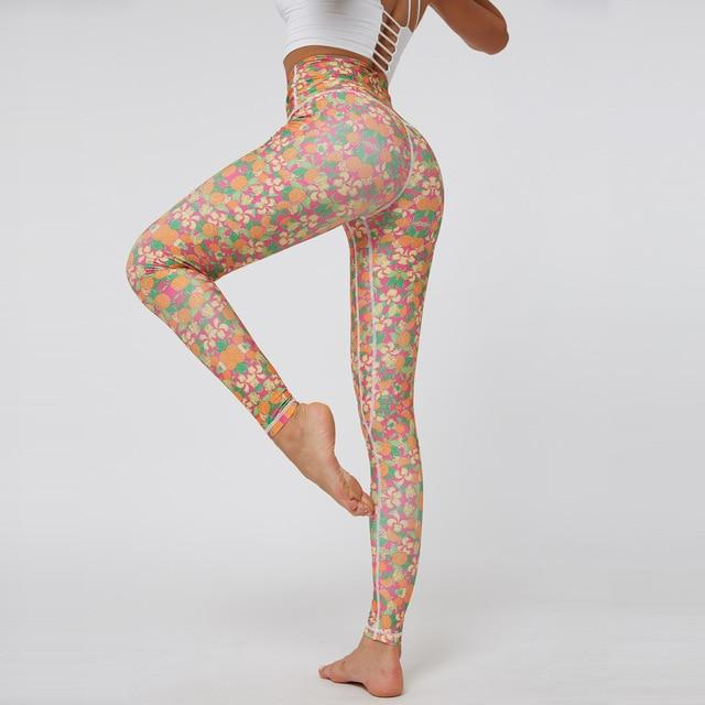 Women Printed Yoga Pants workoutleggings 4 Small CHINA