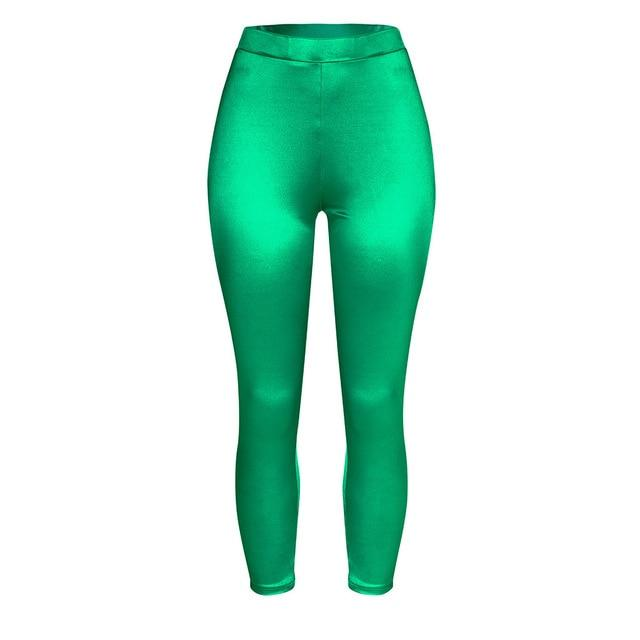 Women Push Up Leggings workoutleggings green Xtra Large CHINA