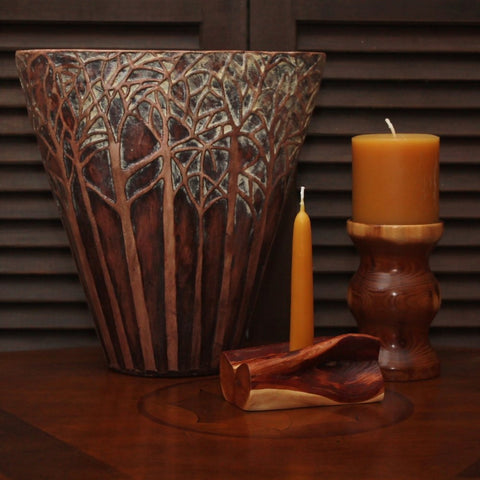 "Pillar Candle – 3"" wide x 3"" tall"