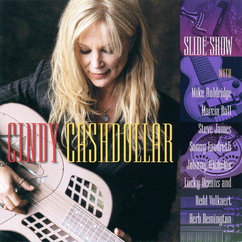 Slide show album by Cindy Cashdollar