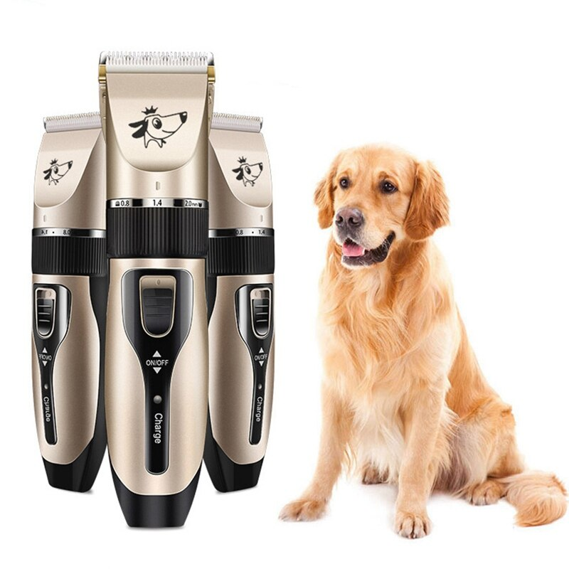 Dog Cat Horse Hair Electric Trimmer Pet Clippers Cordless Pet Hair Grooming Clippers Kit - Professional Rechargeable for Dogs Cats Hairy Pets Trimmer Set Cordless Dogs Cats Horse Grooming Clippers - Remiso