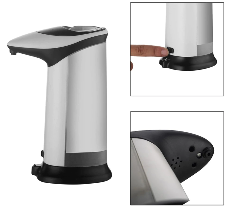 GizzX™ Automatic Soap Dispenser Infrared Touchless Sanitizer Shampoo Hand Soap Dispenser Kitchen Bathroom - Remiso