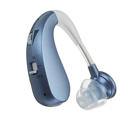 Rechargeable Hearing Aids Amplifier Noise Reduction Adaptive Feedback Cancellation