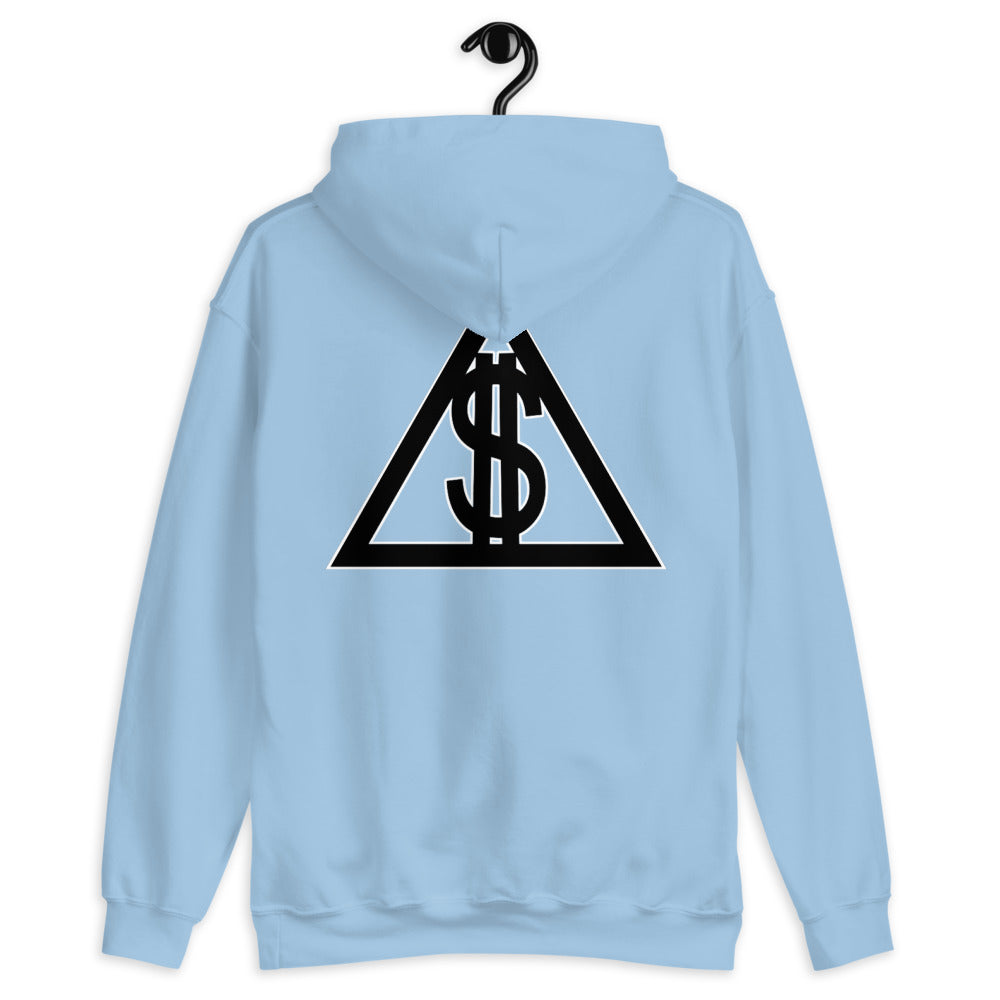 Custom Front and Back Logo Hoodie