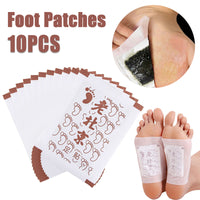 Old Beijing Ai Grass Foot Pads Slimming Foot Patch Health Loss Weight Feet Mask Help Sleep Body Care