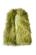 Load image into Gallery viewer, Green Fur Vest (Pre-Order)