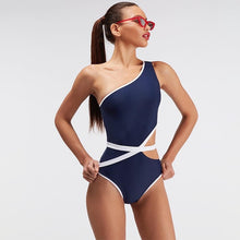 One Shoulder Swimsuit 2019 Bikini Push Up Swimwear Women Sexy One Piece Swimwear Ladies Bathing Suit Trikini Beach Wear Bikinis