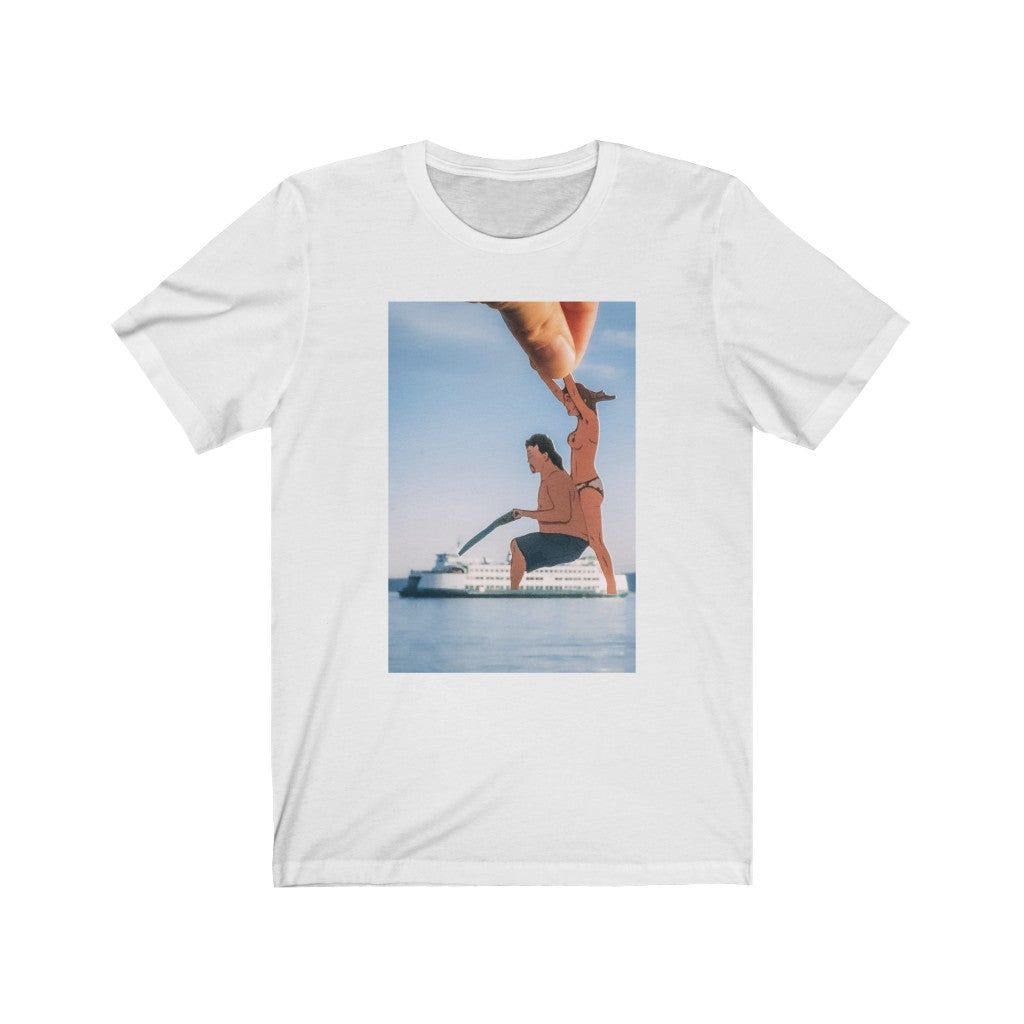 Kenny Powers + WA State Ferry - Men's Tee