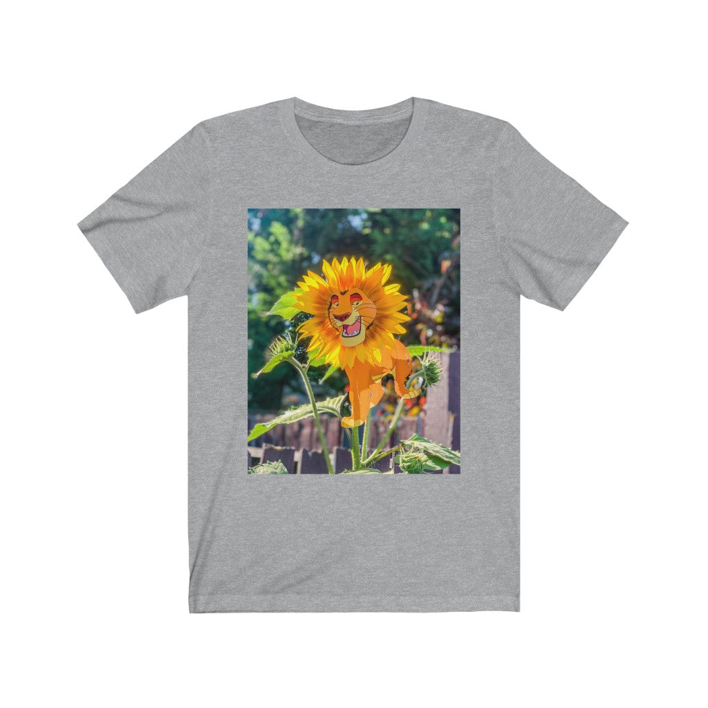 Lion King + Sunflower - Men's Tee
