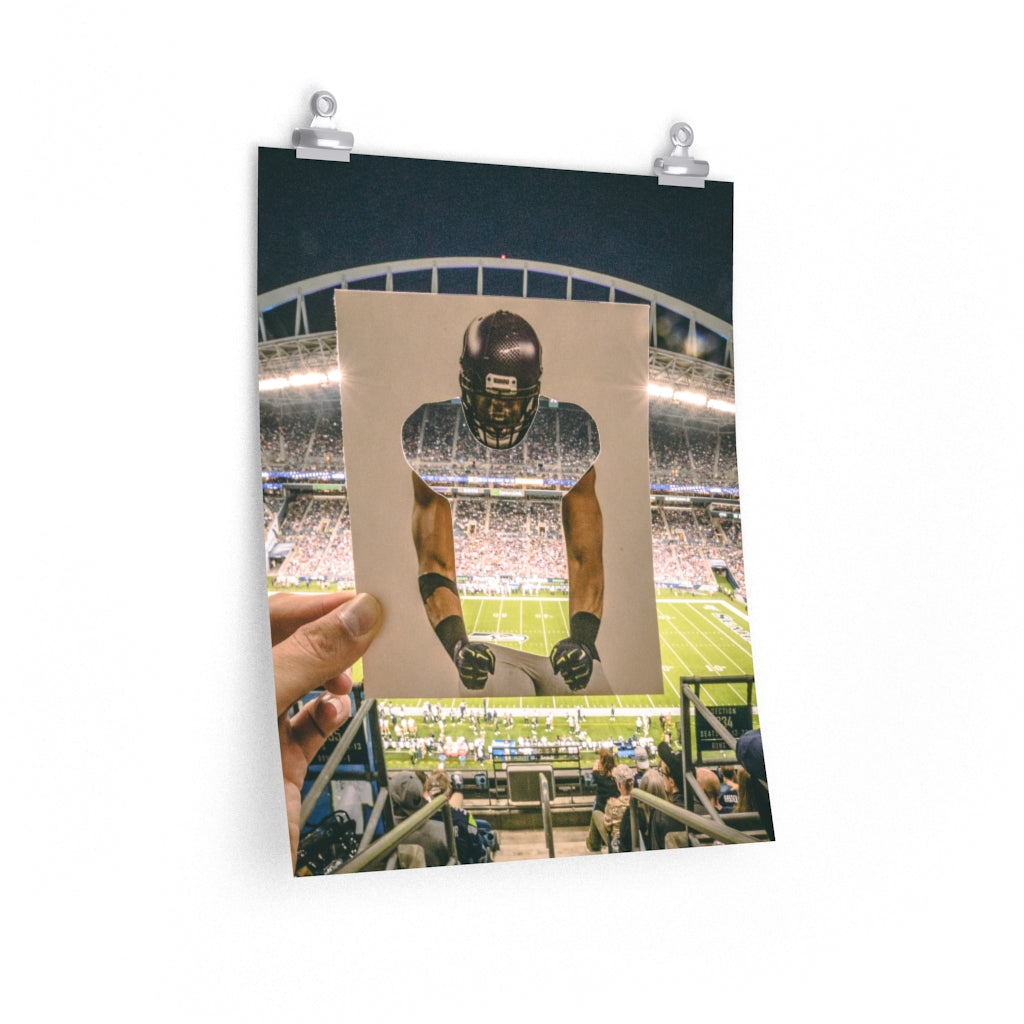 Bobby Wagner + Seahawks Fans - Prints