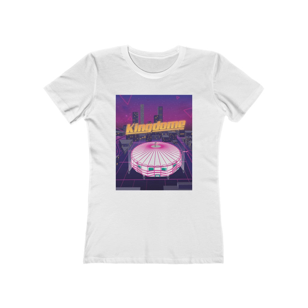 Vaporwave Seattle Kingdome - 80's Women's Tee