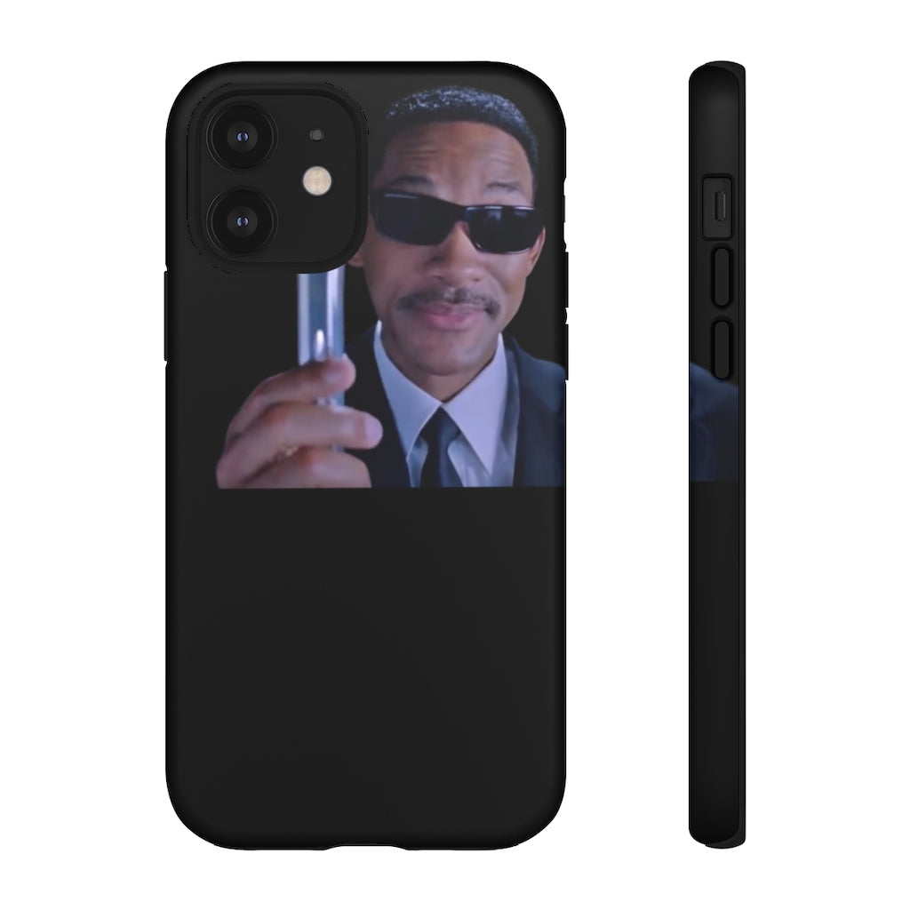 iPhone 12 - Men in Black Eraser Phone Case