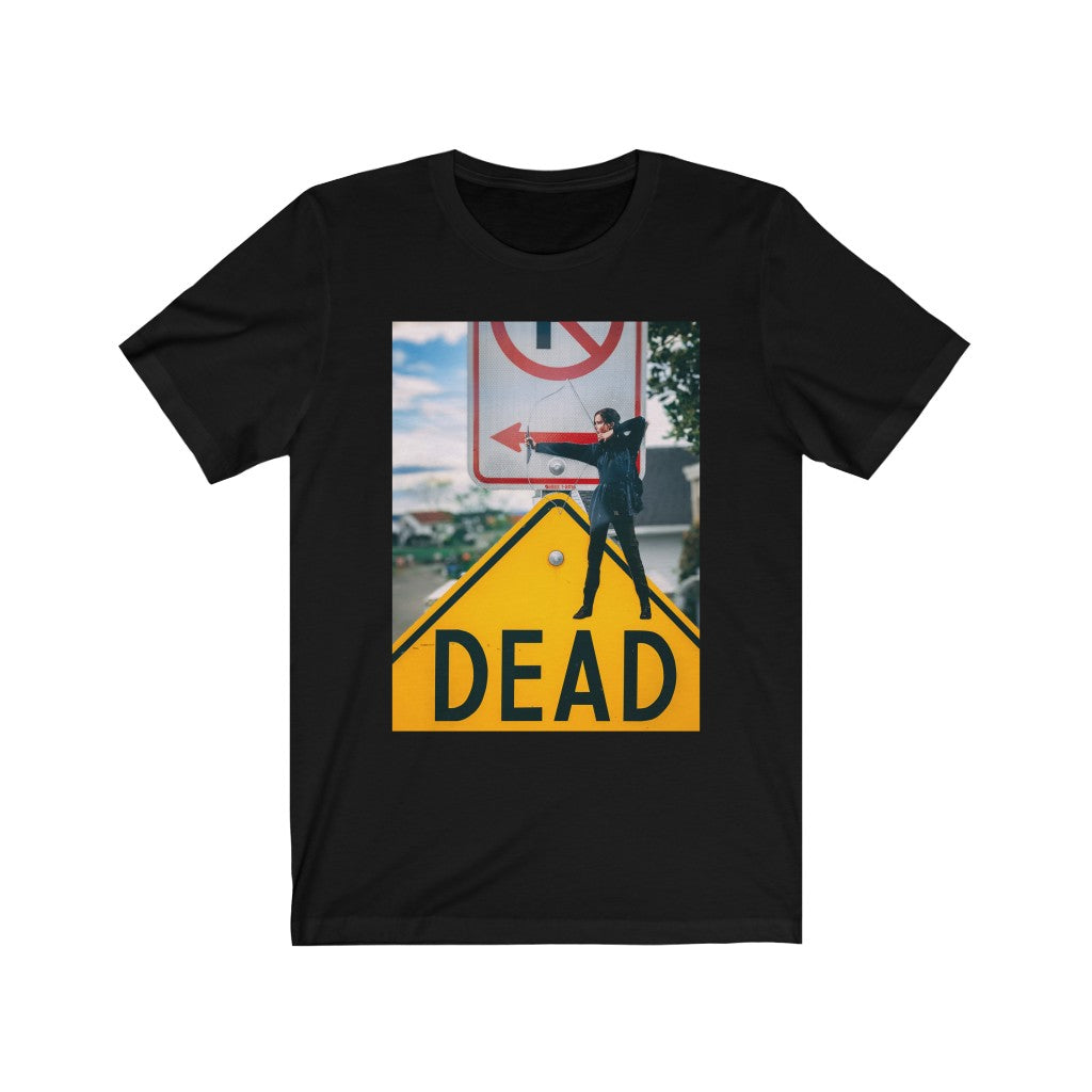 Hunger Games Katniss + No Parking Arrow - Men's Tee