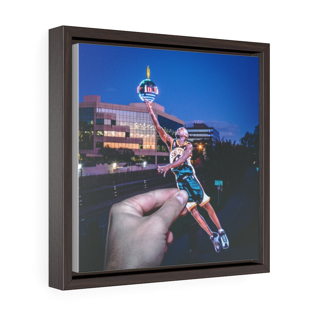 Gary Payton: G.P.I. - Framed Canvas
