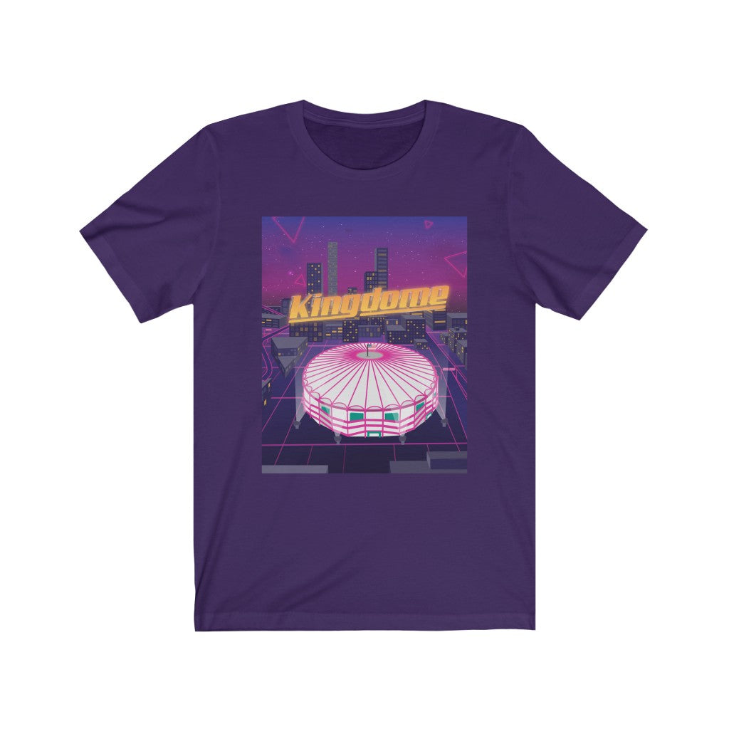 Vaporwave Seattle Kingdome - 80's Men's Tee