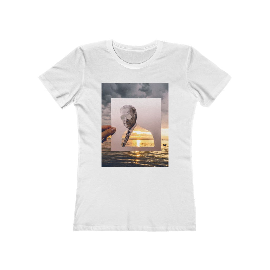 Joe Biden + Puget Sound Sunset - Women's Tee