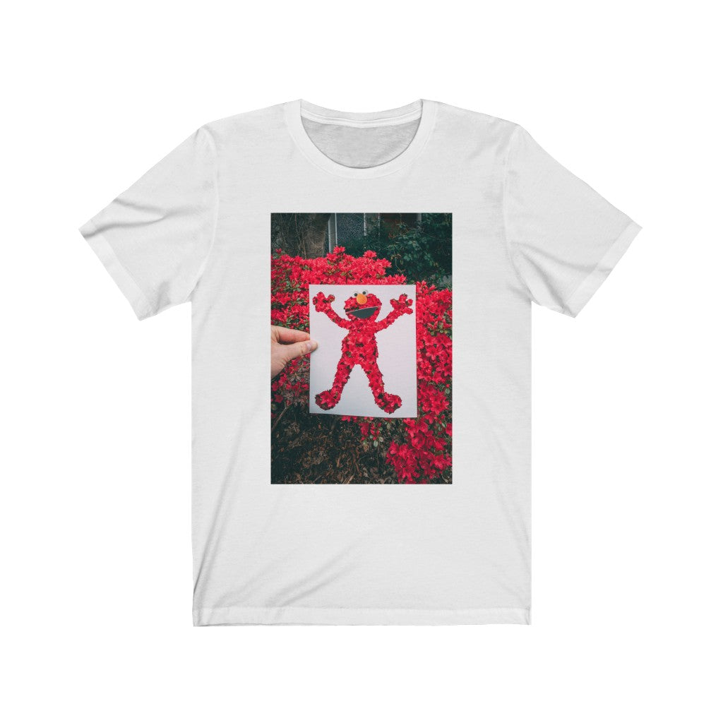 Elmo + Spring Flowers - Men's Tee