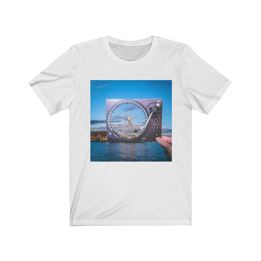 Turntable + The Great Wheel - Men's Tee