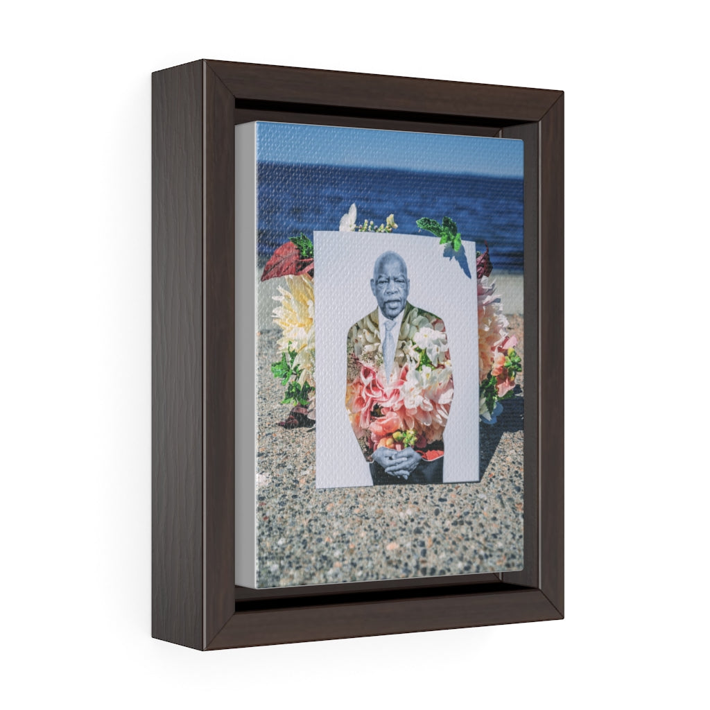 John Lewis + Flowers - Framed Canvas