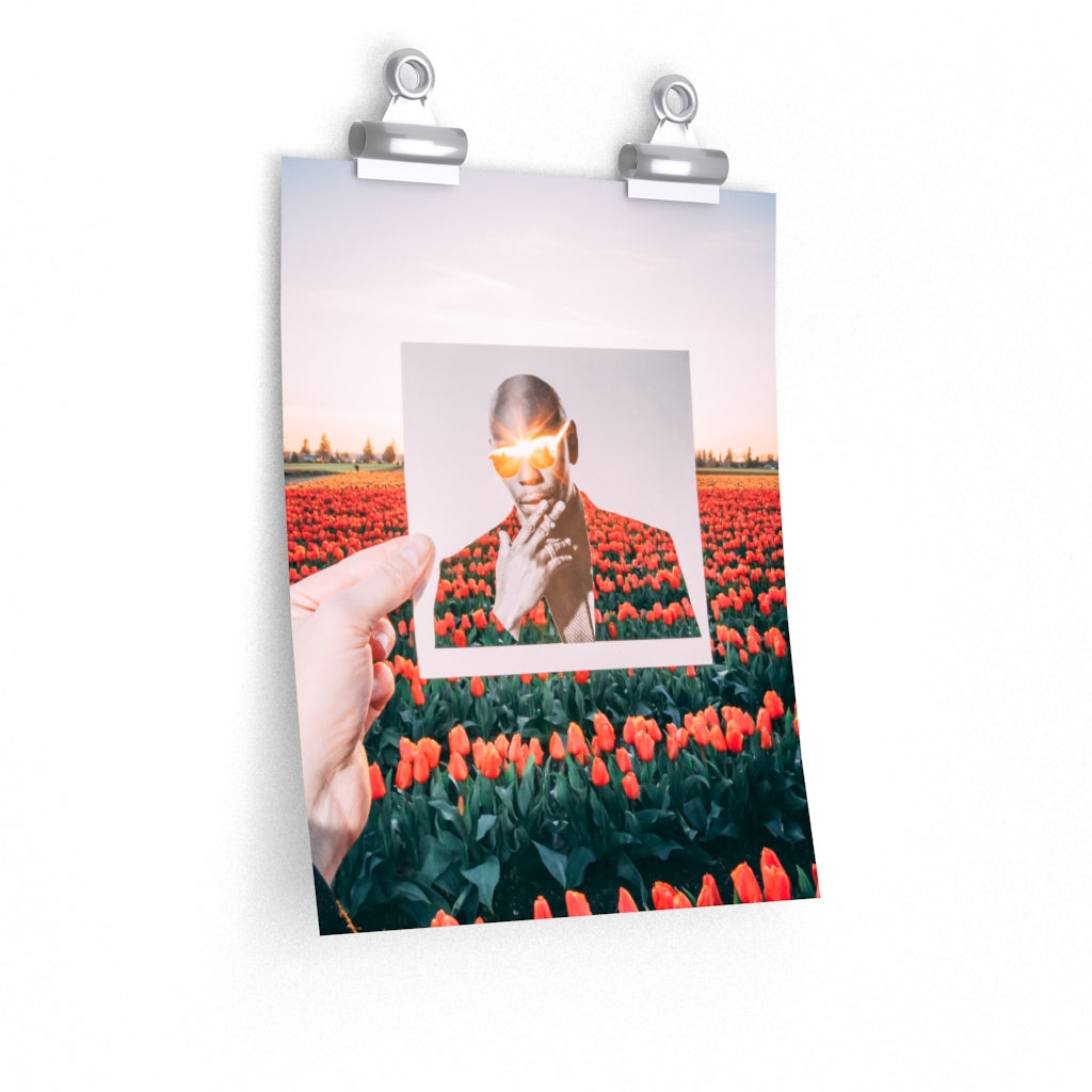 Dave Chappelle + Tulips   - Prints