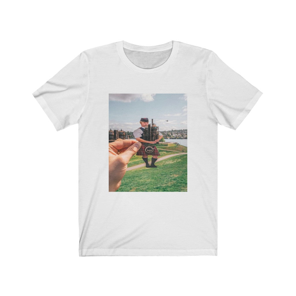 Bagpipes + Gasworks - Men's Tee