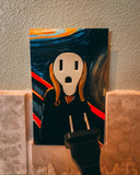 The Scream Street Art Outlet Sticker