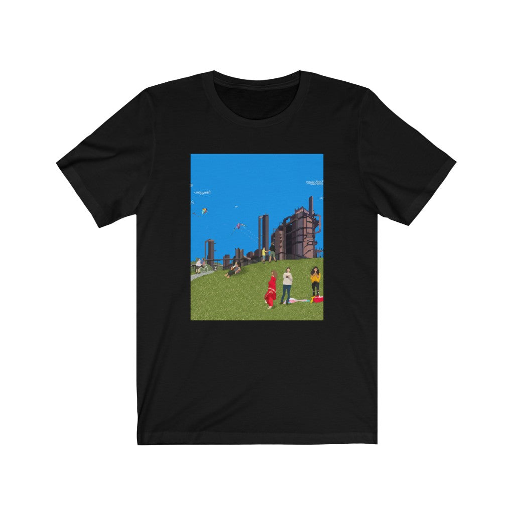 8-Bit Gas Works Park - Men's 80's Tee