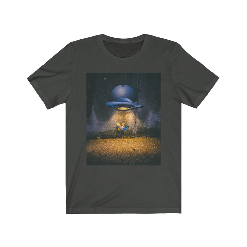 Homer Simpson + UFO Street Light - Men's Tee