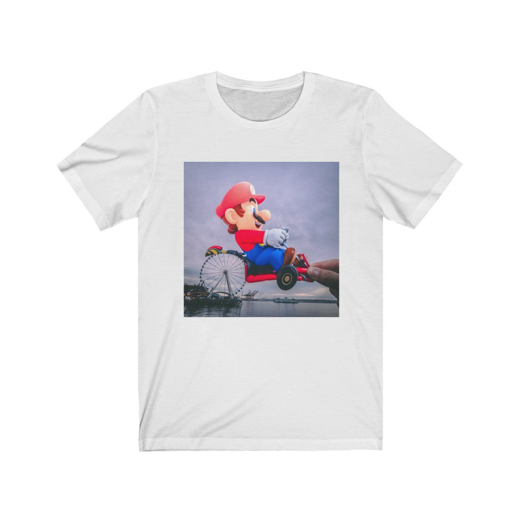 Mario Kart + The Great Wheel - Men's Tee