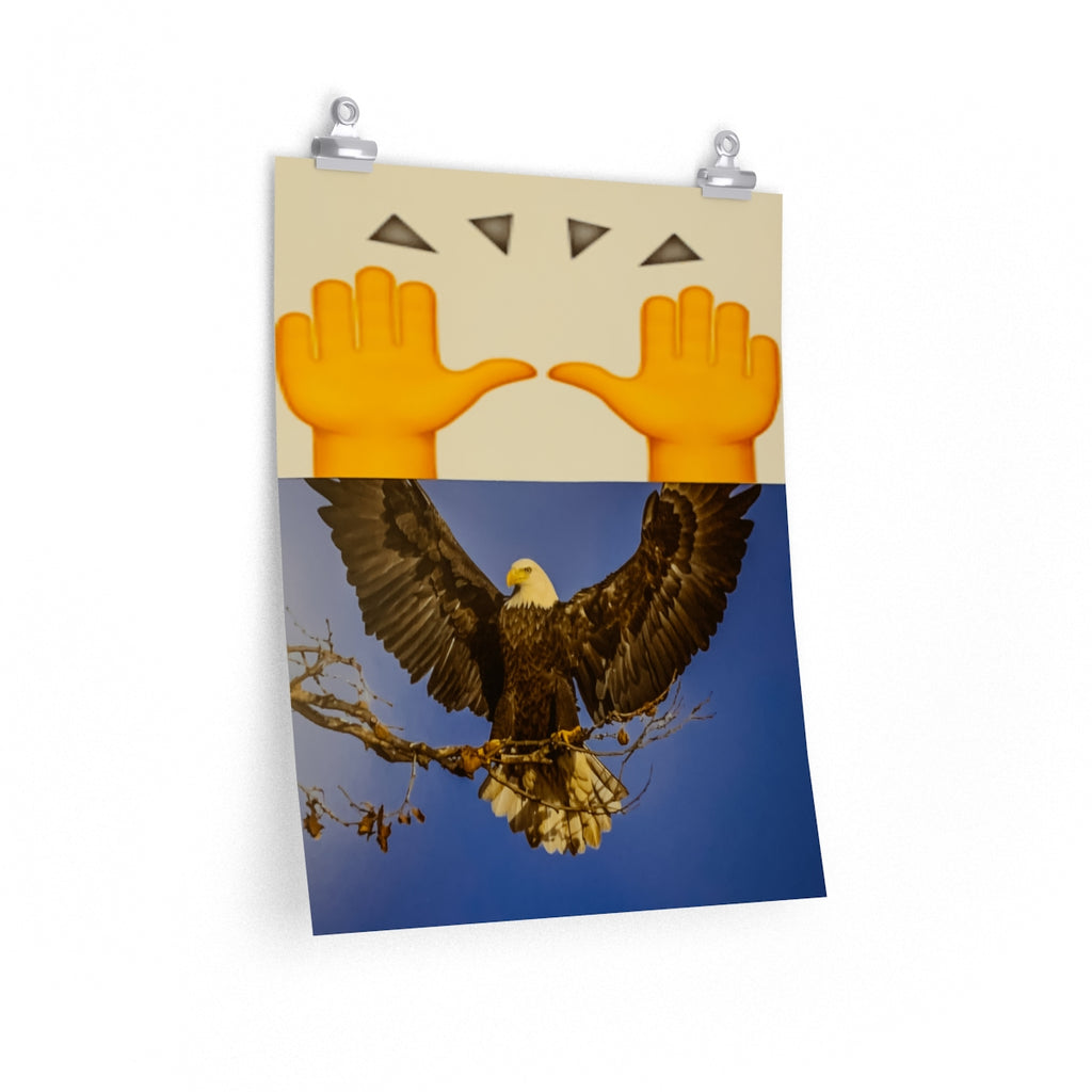 Bald Eagle + Emoji Celebration