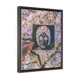 John Lennon + UW Cherry Blossoms - Framed Canvas Print