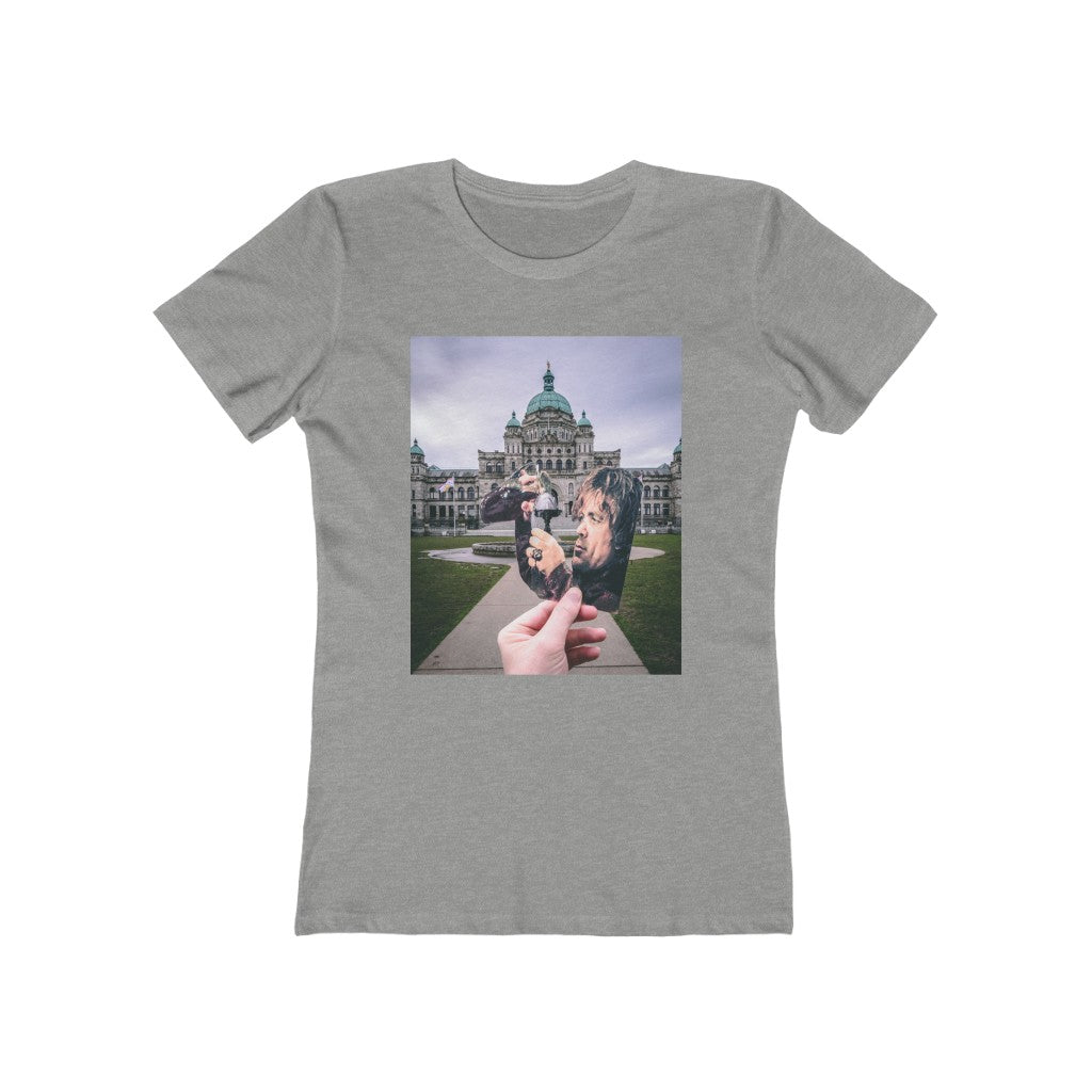 Game of Thrones Tyrion + Victoria Parliament Building Fountain  - Women's Tee