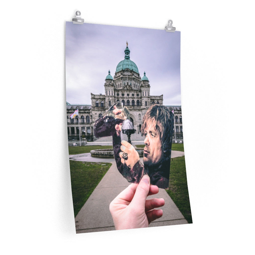 Game of Thrones Tyrion + Victoria Parliament Building Fountain  - Prints